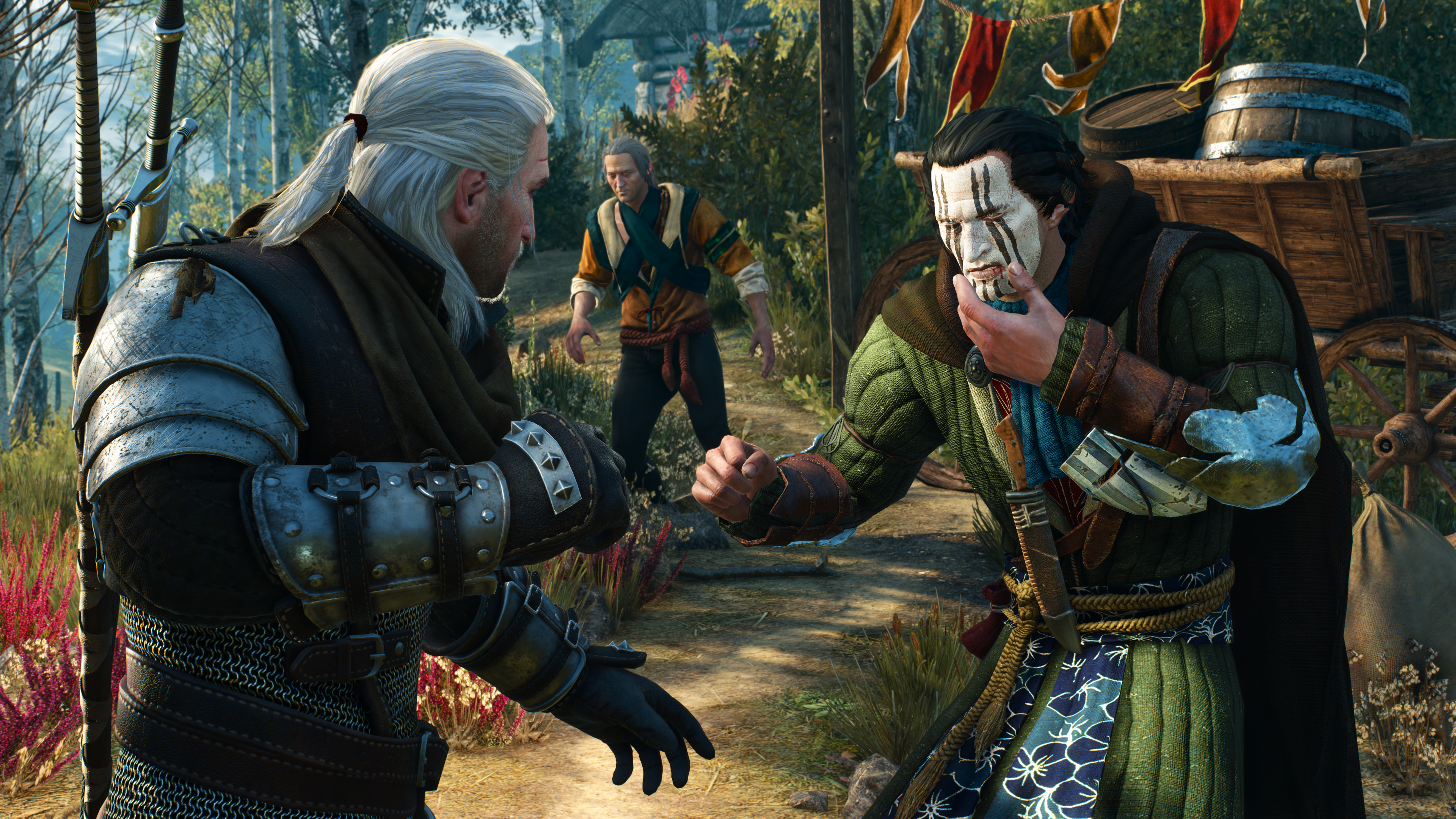 Player verb relationships in The Witcher 3: The Wild Hunt